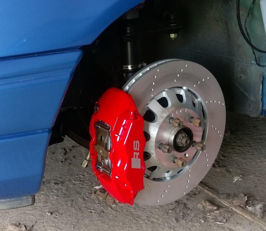 Audi RS3 Bremsanlage am Astra f