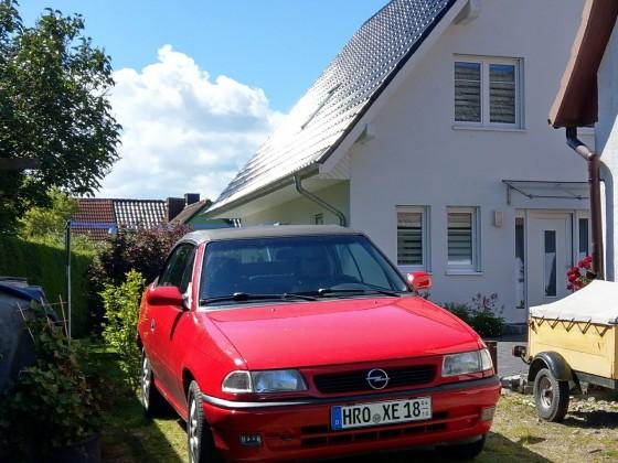 Astra F Cabrio Aufbau