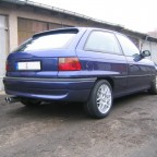 Shorty_GSI Astra F C20XE 2003 Heck