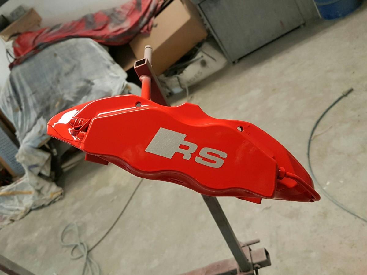 TTRS Bremssattel, frisch lackiert